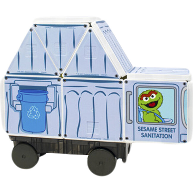 Sesame Street Garbage Truck
