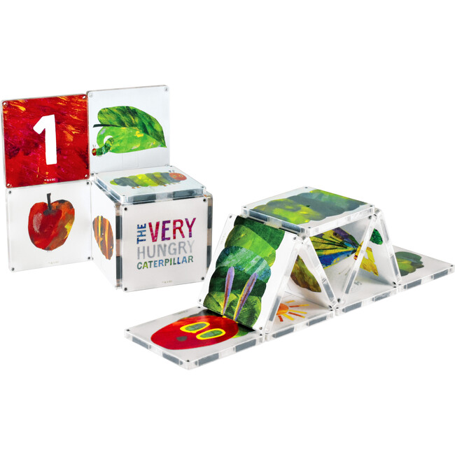 The Very Hungry Caterpillar Magna-Tiles Structures