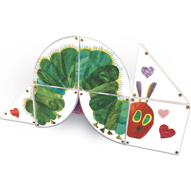 LOVE From The Very Hungry Caterpillar Magna-Tiles Structures
