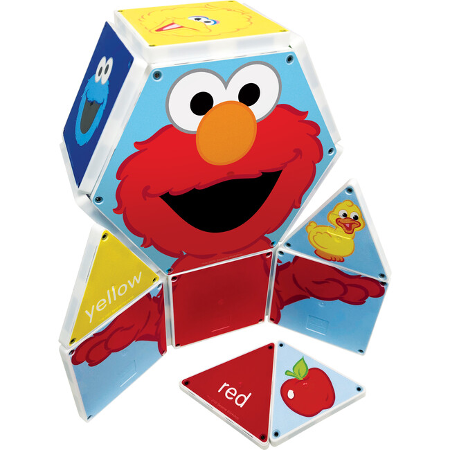 Sesame Street Colors with Elmo Magna-Tiles Structures