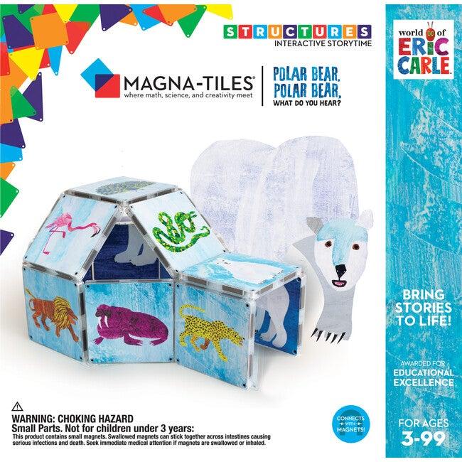 Polar Bear, Polar Bear, What Do You Hear? Magna-Tiles Structures