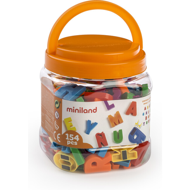 Magnetic Uppercase Letters, 154 Pieces
