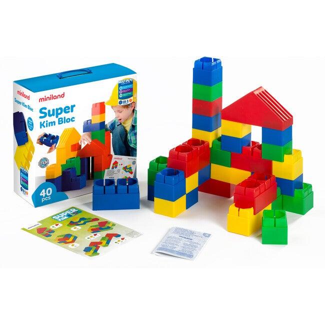 Super Kim Bloc, 40 Pieces