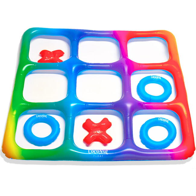 Rainbow Tic Tac Toe Game