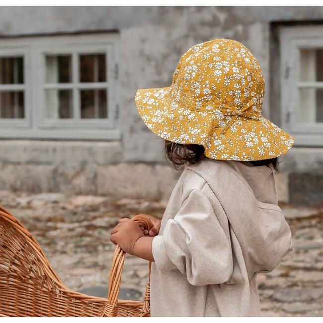 Yvonne Summer Hat, Liberty Cap Mustard