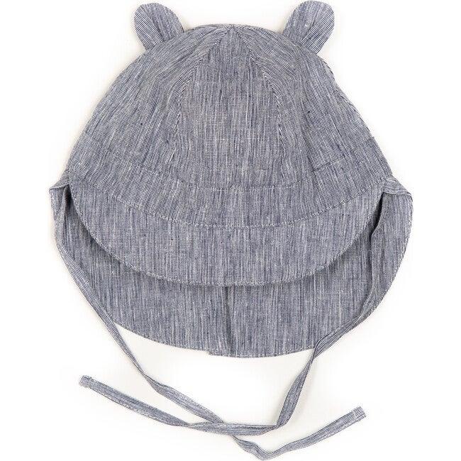 Safari Sun Hat w/ears, Navy