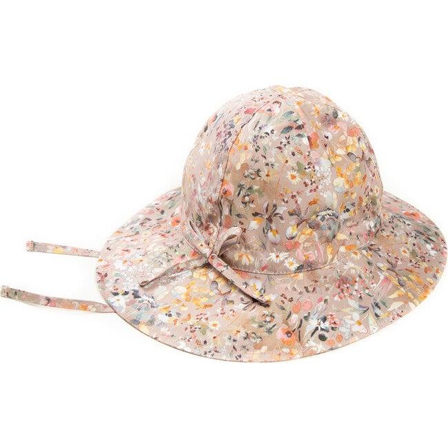 Yvonne Summer Hat, Liberty Felda Camel - Hats - 1