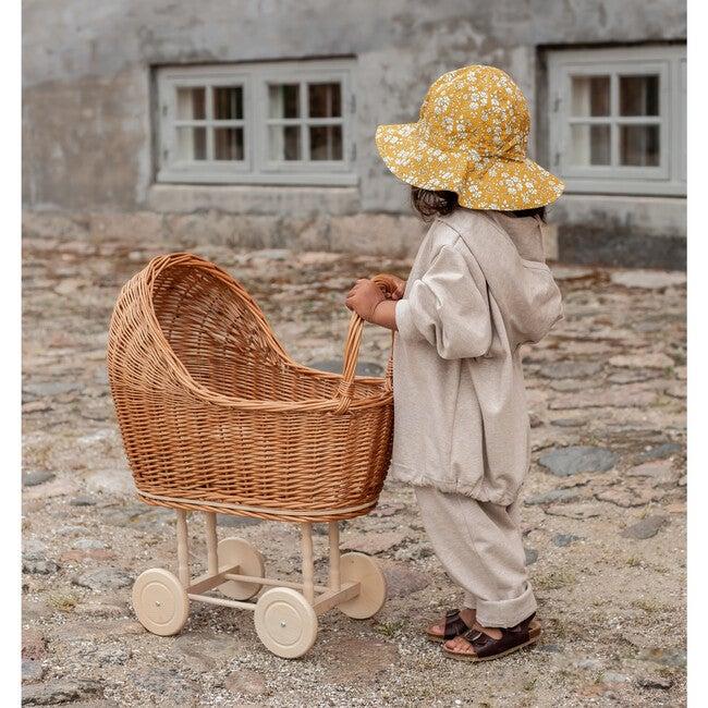Yvonne Summer Hat, Liberty Felda Camel