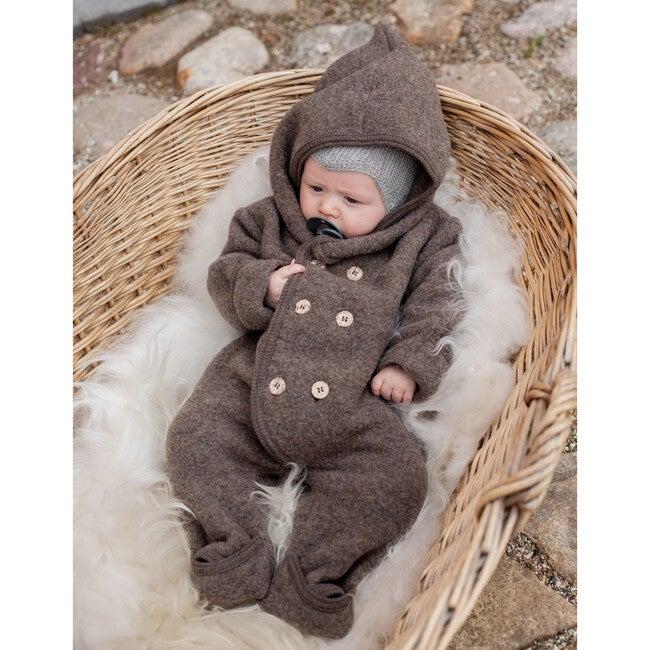 Cotton Fleece Elf Suit, Navy