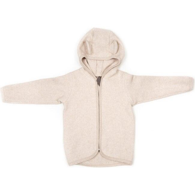 Cotton Fleece Jacket w/ears, Camel