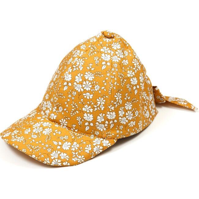 Cap w/bow, Liberty Cap Mustard