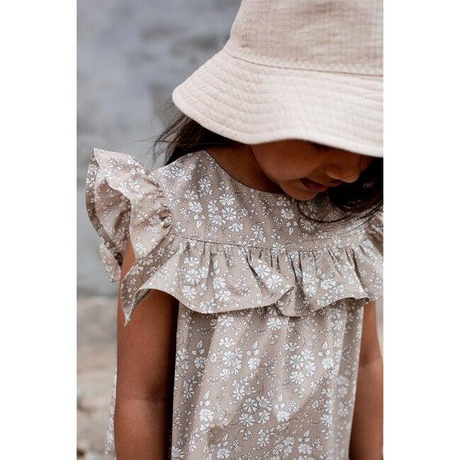 Crowny Dress, Liberty Felda Camel