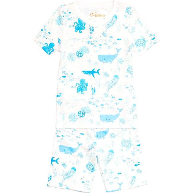 Summer Pajama Set, Under The Sea - Pajamas - 1