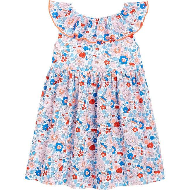 Toddler Liberty Dress, Flowers