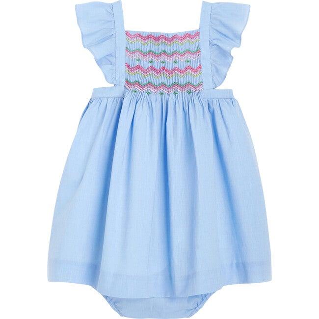 Toddler Chambray Dress, Chambray