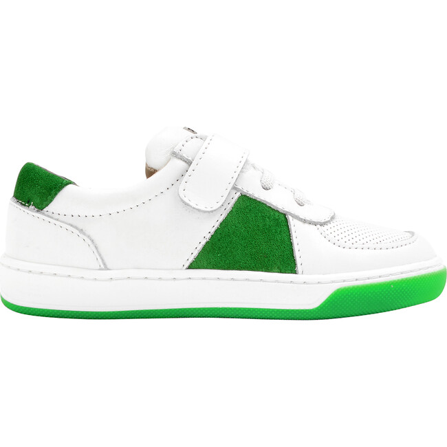 Sneakers, White & Green
