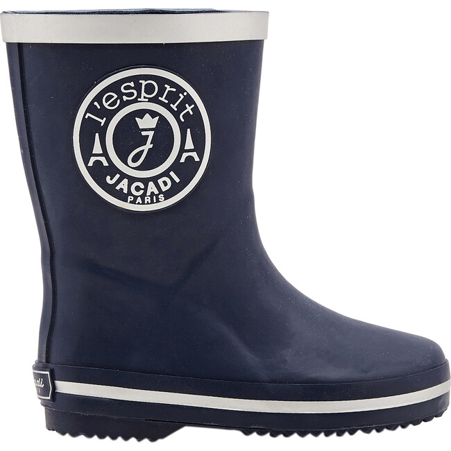 Rain Boots, Navy Blue