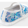 Baby Canvas Mary Janes, Blue & Muliticolored - Mary Janes - 3