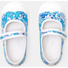 Baby Canvas Mary Janes, Blue & Muliticolored - Mary Janes - 4