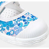 Baby Canvas Mary Janes, Blue & Muliticolored - Mary Janes - 6