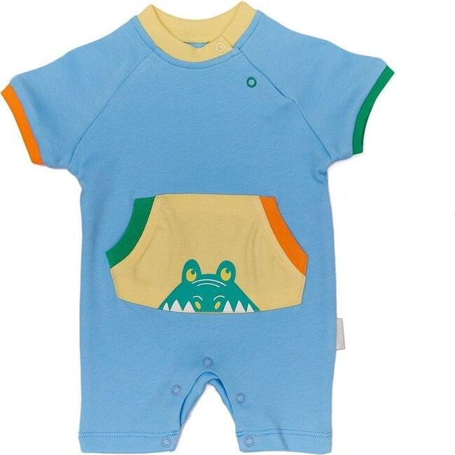 Playtime Bodysuit, Blue