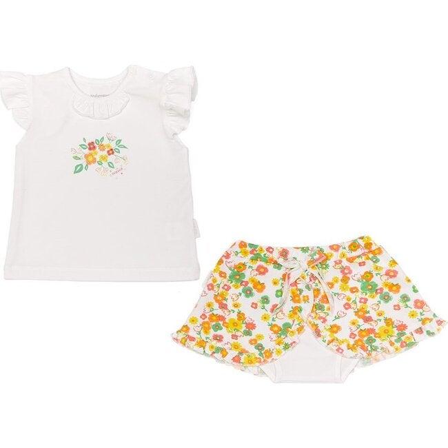 Hello Sunshine Outfit, White