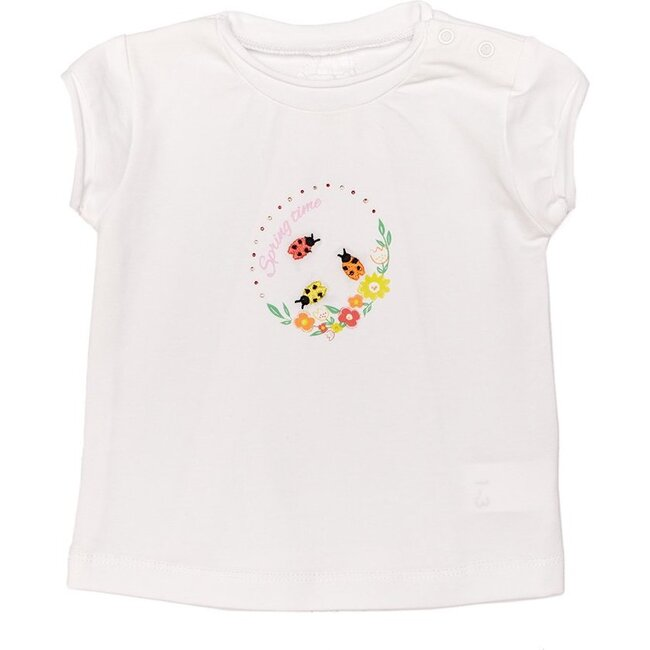Hello Sunshine Graphic T-Shirt, White
