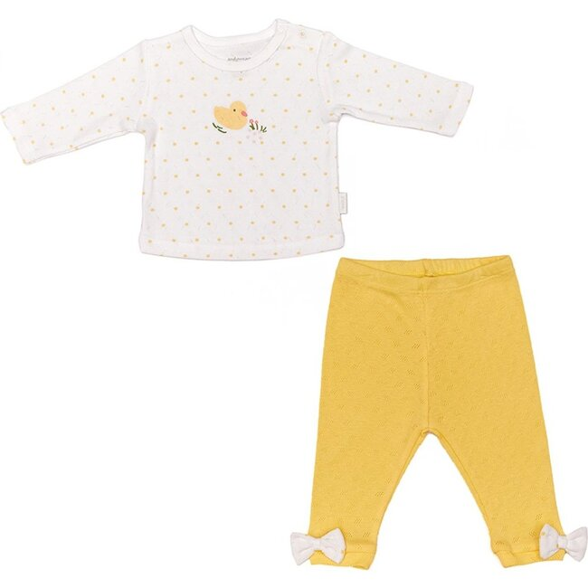 Happy Chick Outfit, White