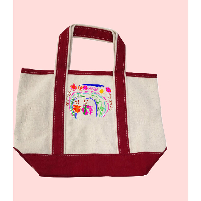 Draw Your Own Small Boat Tote Gift Set