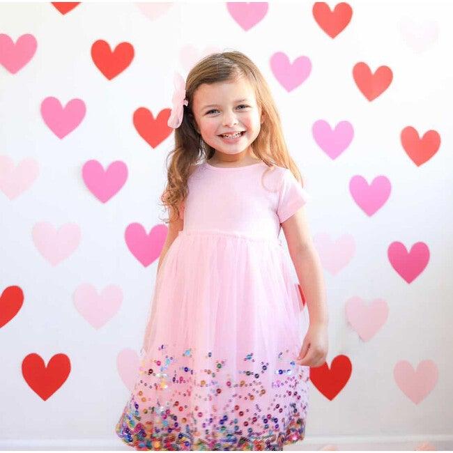 Sequin Dress, Pink
