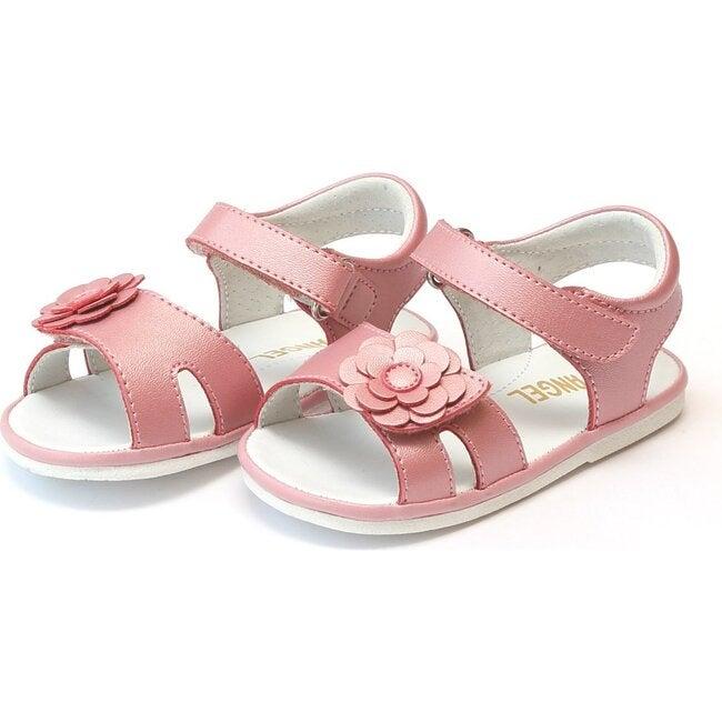 Mila Flower Sandal, Guava