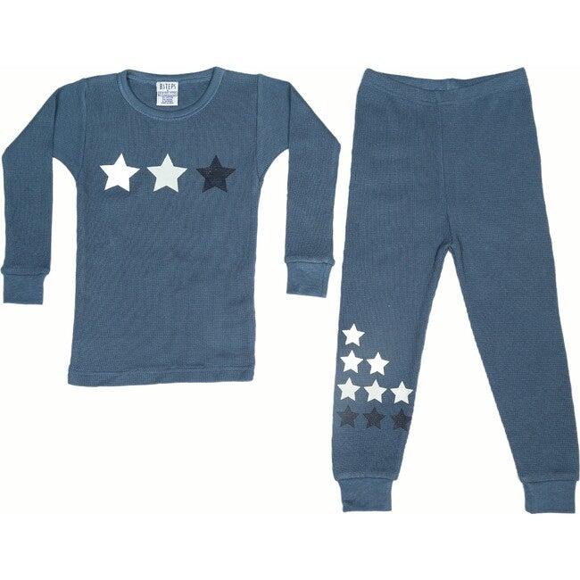 Pajama Set, Denim Stars