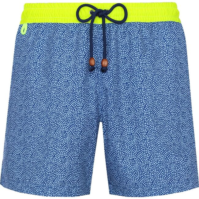 Men's Trawangan Sunny Atolls Swim Trunks, Blue