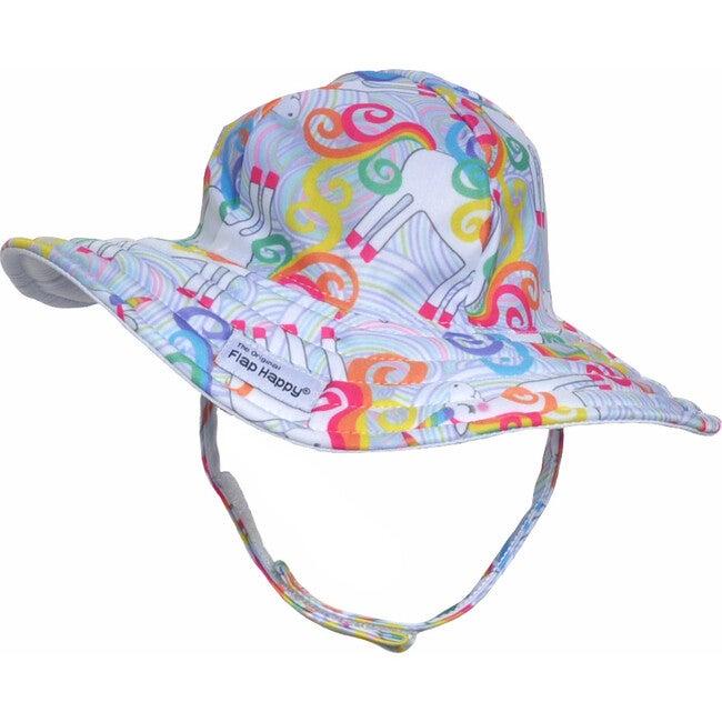 UPF 50+ Summer Splash Swim Hat, Unicorn Magic - Hats - 1