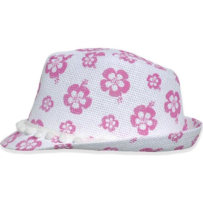 UPF 50+ Fedora Club Hat, Wild Hibiscus