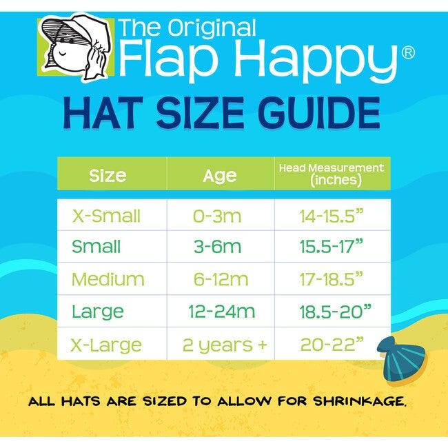 UPF 50+ Floppy Hat, Cotton Candy Stripe Seersucker