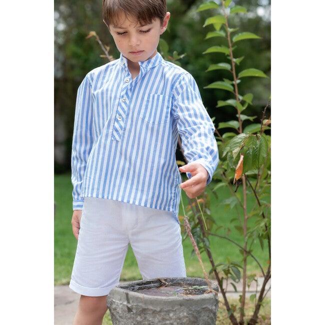 Pedro Shirt, Blue