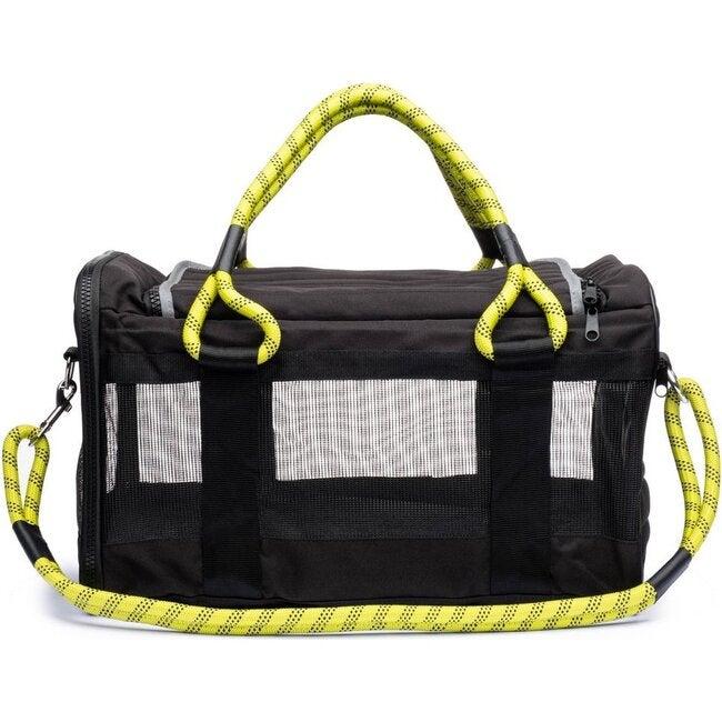 Pet Travel Bag,  Black and Yellow