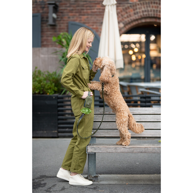 The Pooch Purse in Olive Green