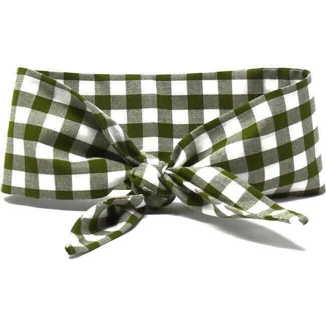 Necktie, Forest Gingham