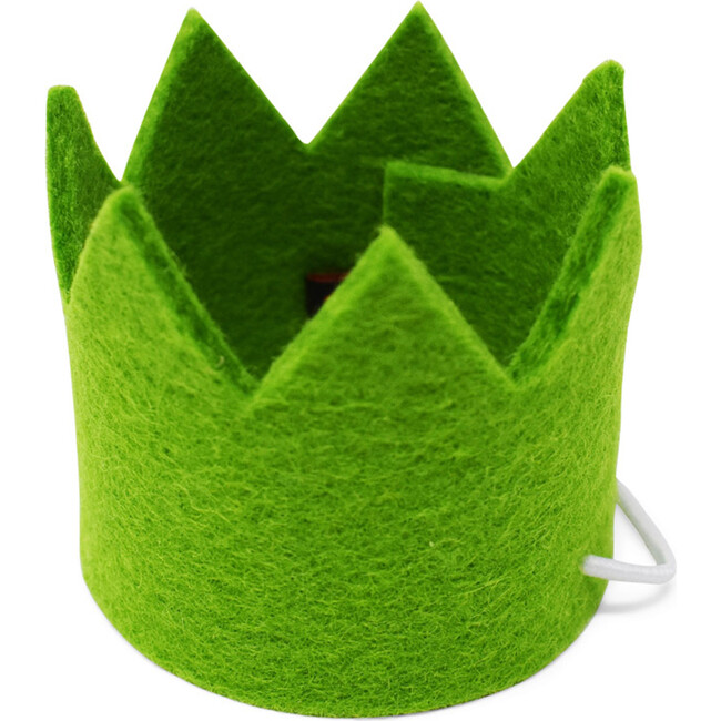 Party Beast Crown, Green - Pet Costumes - 1
