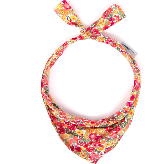 Neckwear, Red Floral