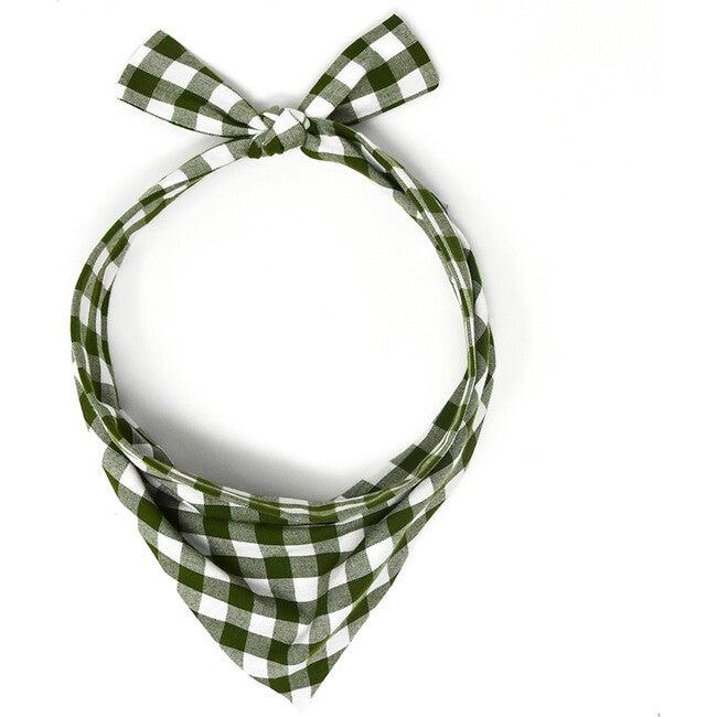 Neckwear, Forest Gingham - Dog Bandanas & Neckties - 1