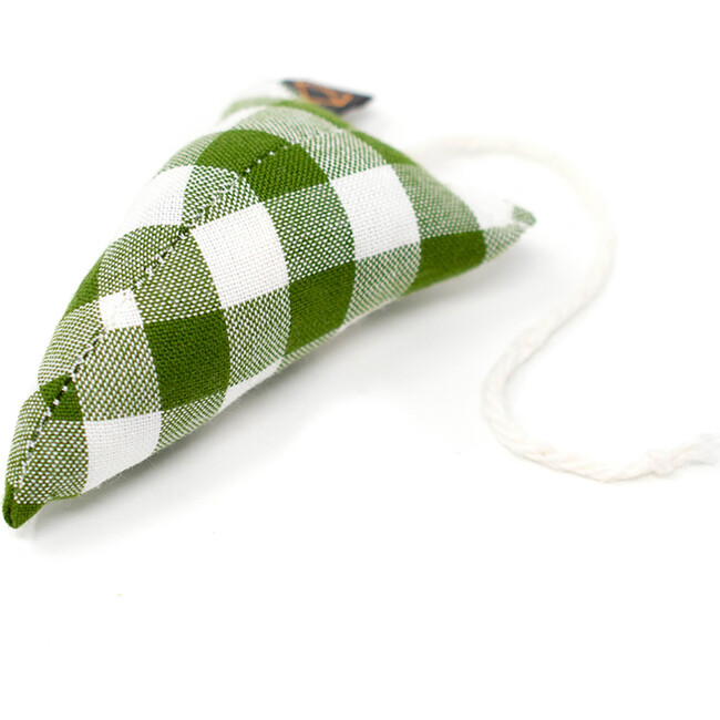Modern Adventure Mouse, Forest Gingham