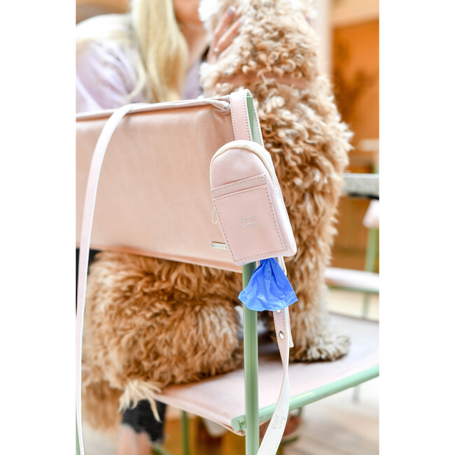 The Pooch Purse in Peony Pink