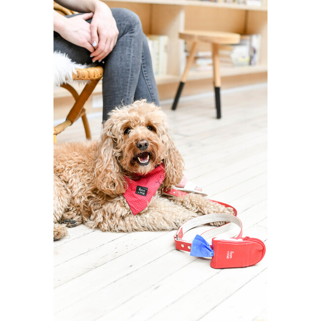 The Pooch Purse in Lipstick Red