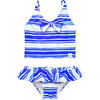 Frill Bikini, Seastripe - Two Pieces - 1 - thumbnail