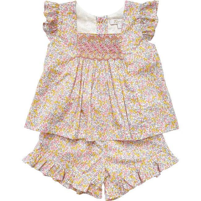 Olivia Set, Yellow & Pink
