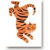 Theo the Tiger Art Print, Orange - Art - 1 - thumbnail