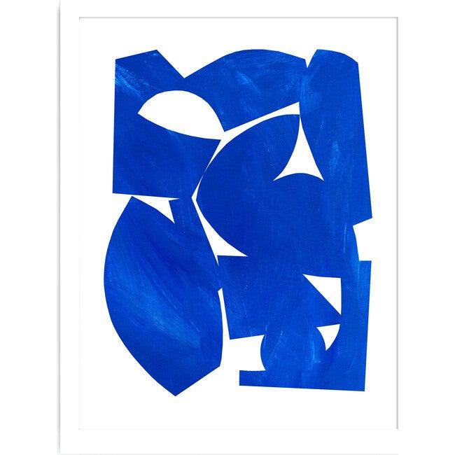 Cobalt Art Print, Blue